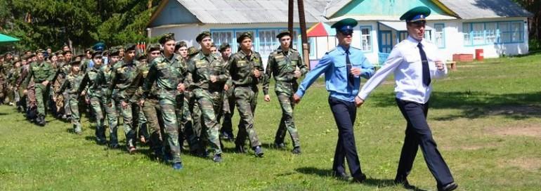 Открытие 2 смены Областного военно-исторического лагеря «Патриот Зауралья»