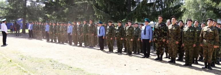 Продолжается работа военно-исторического лагеря «Патриоты Зауралья»