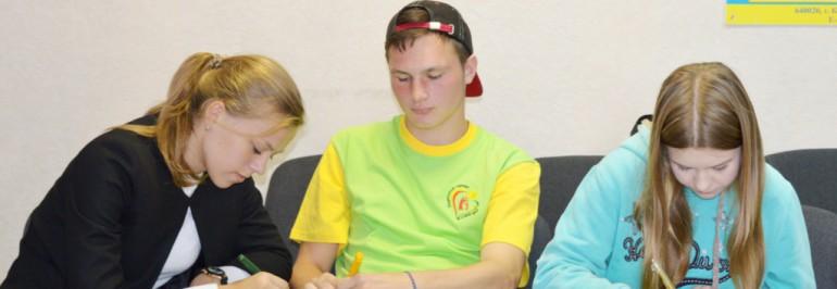 Подведение итогов работы волонтеров на смене «Я и мой друг»