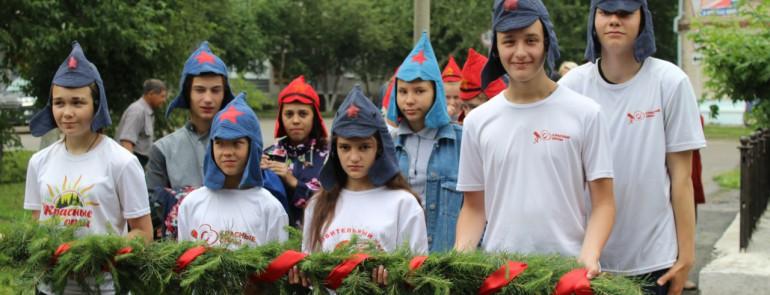 В лагере имени Полка «Красные Орлы» отметили столетие Первого крестьянского коммунистического полка