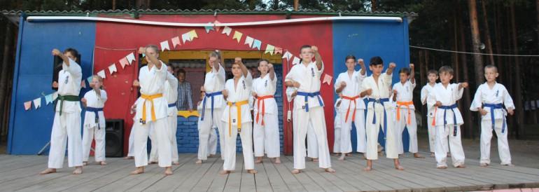 Юмористический конкурс в  лагере им.Полка «Красные орлы»