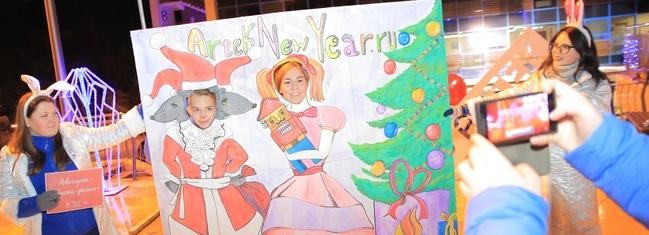 Новый год в МДЦ «Артек» встретили дети со всей России