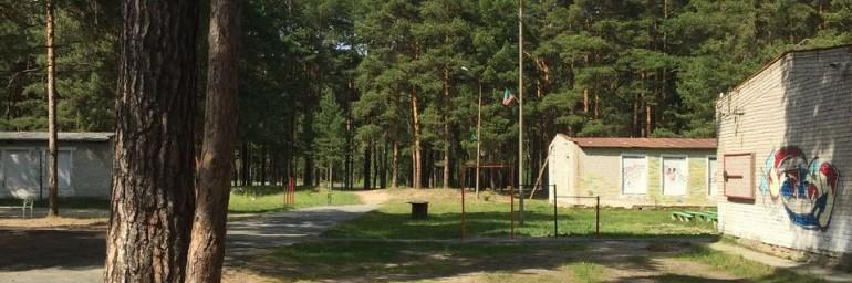 Гости в лагере им. Полка «Красные Орлы»