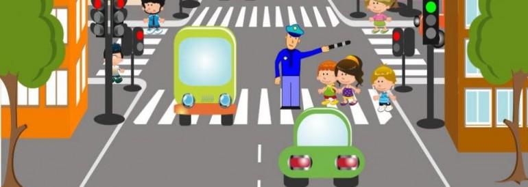 Во время самоизоляции школьникам напомнят о правилах дорожного движения