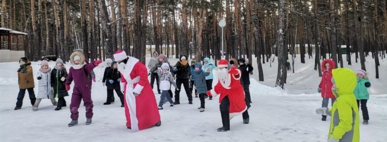 """""""Новогодний экспресс"""" в Янтарном"""