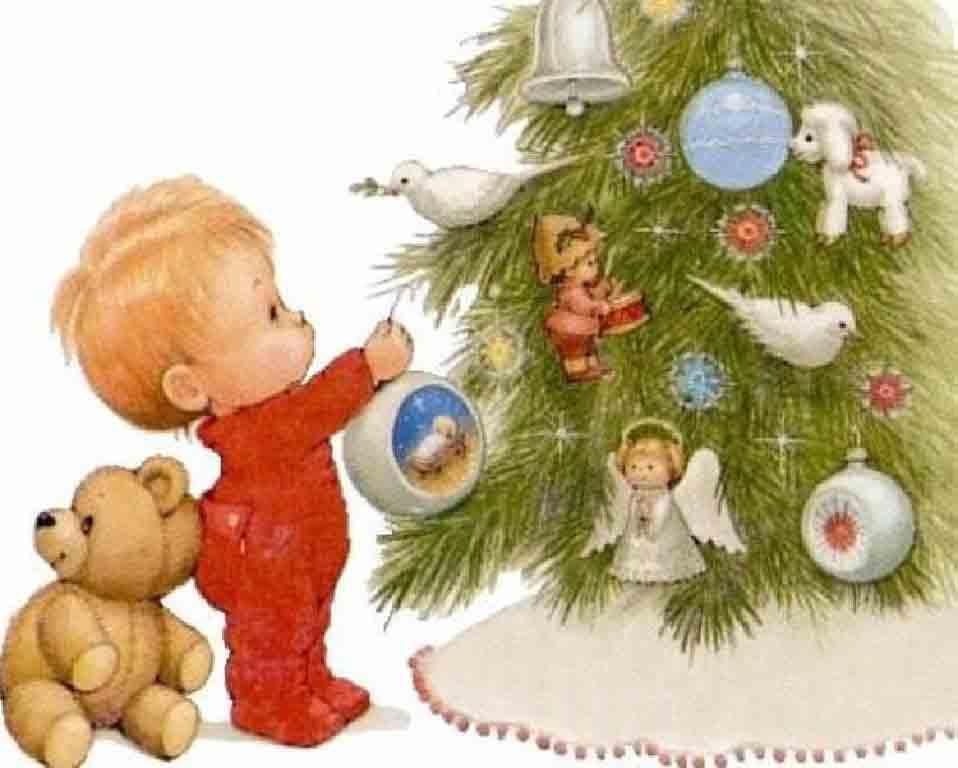 И для малышей про новый год